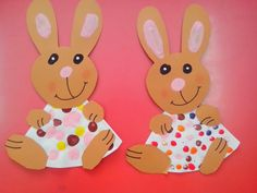 Plenty of fun construction paper crafts for kids! We have plenty of construction paper crafts for you to browse. Easter Arts And Crafts, Easter Egg Crafts, Spring Crafts For Kids, Paper Crafts For Kids, Easy Crafts For Kids, Easter Bunny, Easter Activities, Craft Activities For Kids, Preschool Crafts