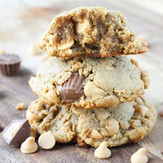 Loaded Reese's Peanut Butter Cookies - American Heritage Cooking