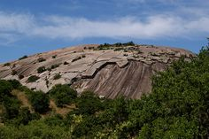 Enchanted Rock, Fredericksburg, TX  we camped here in July and it was very hot....but stayed in tent only at night and enjoyed the town during the day.....  beautiful area   had a great time