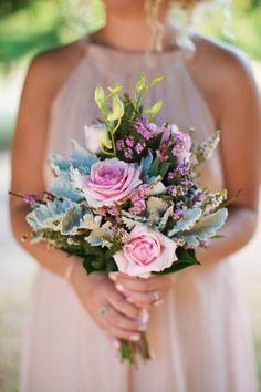 Sweet pink rose #bouquet | Photography: Fotojojo - www.fotojojo.com.au  Read More: http://www.stylemepretty.com/australia-weddings/2014/05/15/romantic-lavandula-swiss-italian-farm-wedding/