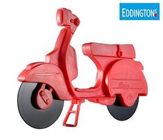 Eddingtons Red Lambretta Vespa Scooter Pizza Cutter -- Check out this great product.