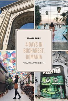 My guide and recommendations on what to do, where to stay and what to eat throughout 4 days in Bucharest, Romania. Places To Travel, Places To Visit, Beach Trip, Beach Travel, Romania Travel, Bucharest Romania, Royal Caribbean Cruise, Culture Travel, European Travel