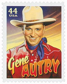 "Known as ""America's Favorite Singing Cowboy,"" Gene Autry is the only entertainer to have five stars on Hollywood's Walk of Fame.  Autry was the ultimate role model. He promoted clean living through his ""Cowboy Code"" – 10 virtues promoting an ethical, moral, and patriotic lifestyle. Through his movies, Autry entertained and inspired people throughout the world."