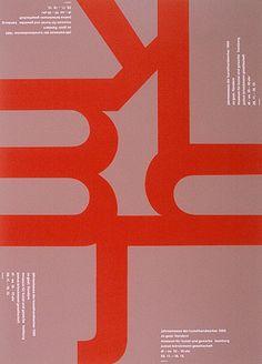 Almir Mavignier – Cartazes, 1957-2008 – Acervo Museu de Arte Moderna de São Paulo #color red taupe
