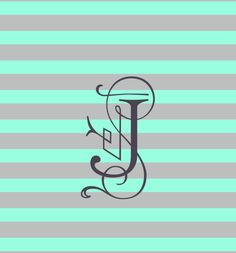 Monogram I made Monogram Wallpaper, Monogram Maker, Letter J, Getting Bored, Doodles, Monograms, Jasmine, Wallpapers, Design