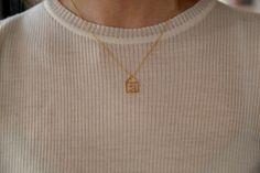 ALIITA | Casita Brillante Necklace | Minimal Nordic Where The Heart Is, Minimalism, Pendant, How To Make, Shopping, Beautiful, Collection, Jewelry, Schmuck