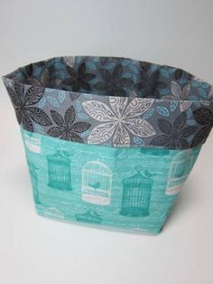 Fabric basket by LovelyMiss