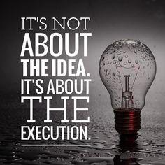Execution >> ideas. #ibmwatson #CMO