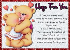 A hug card for the one you adore being held by. Free online Love Being Wrapped Up In Your Arms ecards on Love I Have No One, Love You So Much, Email Cards, Tomorrow Forever, Romantic Words, You Are Special, No One Loves Me, Hug You, Love You Forever
