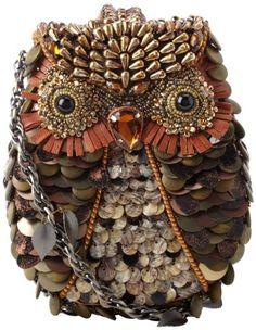 72bf070f6dd2 Mary Frances Accessories What A Hoot Shoulder Handbag Owl Purse, Cloth  Bags, Shoulder Handbags