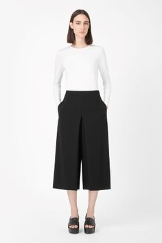Pleated culottes // cos