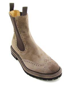 Scarpe stivaletto da uomo modello  Beatles dallo stile casual realizzato in  morbida pelle di vitello a160f73f766