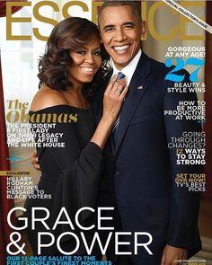 Outgoing #POTUS - #BarackObama and #FLOTUS - #MichelleObama on the October cover for @essence  #PowerCouple #Steevane #SV