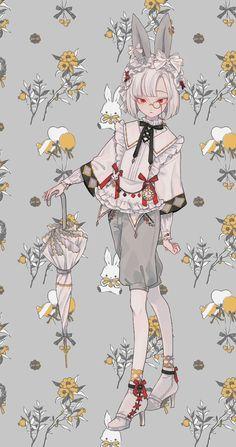 Fantasy Character Design, Character Design Inspiration, Character Art, Character Concept, Character Costumes, Cute Anime Boy, Anime Art Girl, Manga Art, Kawaii Art