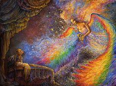 Josephine Wall: Healing Angel