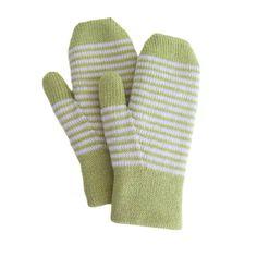 Fully Fashioned Machine Knit Mittens