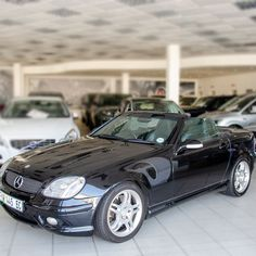 2003 Merc SLK32 AMG A/T – Convertible • 126,503 kms •R 179 900 •Alloy Wheels •Front Fog lights •Command Navigation •Radio + CD Player •5 Speed Automatic Transmission •3.2L Petrol engine  Contact: Karen Gouws: 0662315242 Radio Cd, Small Cars, The Prestige, Automatic Transmission, Cars For Sale, Convertible, Engine, Wheels, Lights