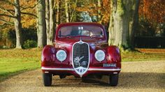 Many sports cars make history, but few are part of it. Such is the case with this 1939 #AlfaRomeo which played a role in the end of World War II.