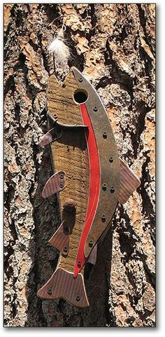 Jumping Trout Birdhouses • FOWL PLACES