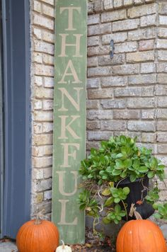 Thanksgiving and Christmas holiday decor sign