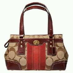 Coach bags are my favorites.