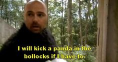 An idiot Abroad 3--In times of darkeness, carl speaks his words of wisdom to me.