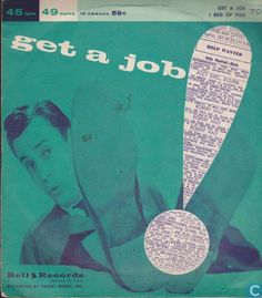 Jimmy Carroll & his Orchestra - Get a Job c/w I Beg of You (1957)