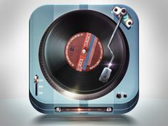 LP Player icon by Melvin ten Napel
