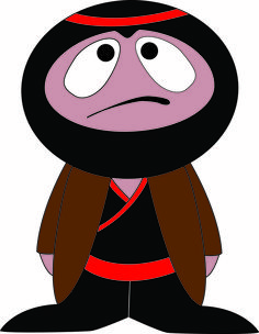 Ninja Worrier ~ an idea...........