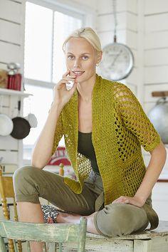 Ravelry: #23 Mesh Jacket pattern by Jenny King