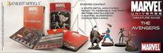 Calabozo Criollo: Starters de Marvel Universe Miniature Game