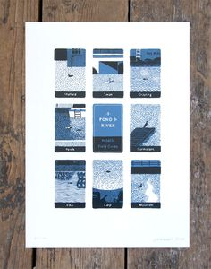 Pond and River Print - Jon Mcnaught