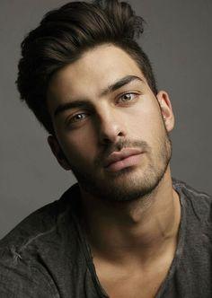 Yovel Biton, Israeli model Male Model Face, Male Face, Male Models, Beautiful Men Faces, Gorgeous Men, Savage Love, Men Photography, Face Men, Moustache