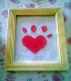 mini cuadro corazon animal Animal, Mini, Frame, Home Decor, Picture Walls, Hearts, Picture Frame, Decoration Home, Room Decor