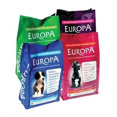 free samples of Europa dog food