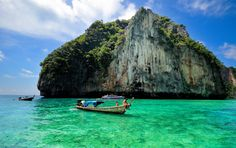 Top Five Must-Visit Islands in Phuket. Don't waste time trying to figure out the islands to visit on your trip to Phuket. Instead, enjoy this travel guide that will fill you in the top five must-visit Phuket islands. Phuket Thailand, Thailand Travel, Asia Travel, Phuket Phi Phi Island, Places To Travel, Places To See, Thailand Adventure, Paradise On Earth, Island Tour
