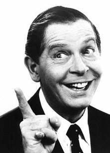 Milton Berle.  I went to a neighbors house to see his show.  We didn't have TV yet!