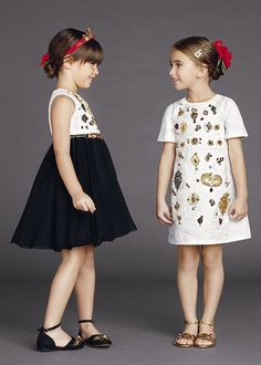 Dolce & Gabbana presents the Children Clothing Collection for Summer 2015, discover more details on http://Dolcegabbana.com.