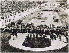 The opening ceremony in the Panathinaiko Stadium. The first Games held under the auspices of the IOC was hosted in the Panathenaic stadium in Athens in The Games brought together 14 nations and 241 athletes who competed in 43 events List Of Olympic Games, Helsinki, 1896 Olympics, Olympic Venues, Olympics Opening Ceremony, Melbourne, Atlanta, Seoul, Greek History