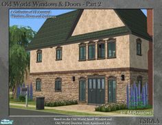 http://www.thesimsresource.com/artists/MsBarrows/downloads/details/category/sims2-sets-objects/title/old-world-windows-doors--part-2/id/966867/