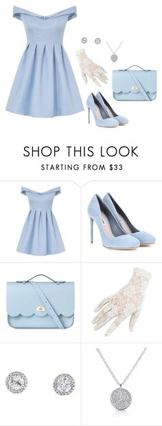 """""""Tea with the queen on Sunday afternoon."""" by mprocedi on Polyvore featuring moda, Chi Chi, Miu Miu, The Cambridge Satchel Company, Black e Anne Sisteron"""