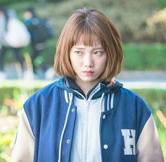 Weightlifting Kim Bok Joo, Weightlifting Fairy, Korean Actresses, Korean Actors, Actors & Actresses, Weighlifting Fairy Kim Bok Joo, Nam Joo Hyuk Lee Sung Kyung, Short Hair Cuts, Short Hair Styles