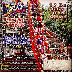 Vamos a #sixflags este 19 de julio y 10 de agosto http://www.aventuraextrema.com.mx/sixflags.htm #Veracruz #Xalapa