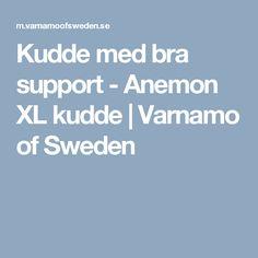 Kudde med bra support - Anemon XL kudde | Varnamo of Sweden