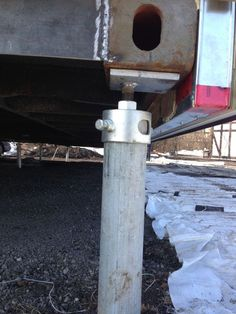 Ground Anchor For Sea And Storage Containers In Winnipeg And Manitoba