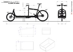 Technical Info for Bullitt Cargo bike frames.