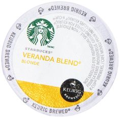 STARBUCKS VERANDA BLEND COFFEE K CUP 72 COUNT * Learn more by visiting the image link.