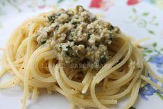Pasta con pesto di acciughe e olive verdi | ricetta di Nigella