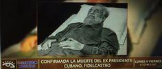 Noticias ao Minuto - Foto do corpo de Fidel é divulgada por canal de TV Cubano