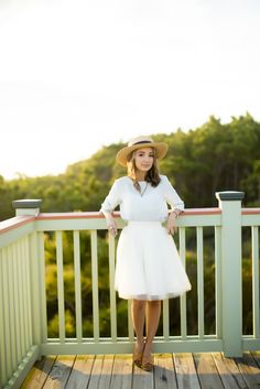 Tulle skirt and hat